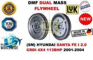 FOR HYUNDAI SANTA FE I 2.0 CRDI 4X4 113BHP 2001-2004 NEW DUAL MASS DMF FLYWHEEL