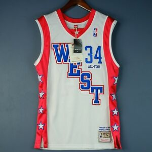 100% Authentic Shaquille O'Neal Mitchell & Ness 04 All Star Jersey Size 40 M