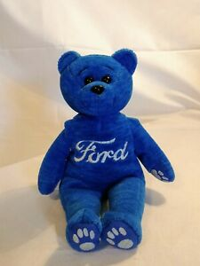 FORD embroidered BLUE Bear