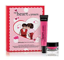 NIB Philosophy My Heart to Yours Lip Polish &  Gloss Full Size Set $46!
