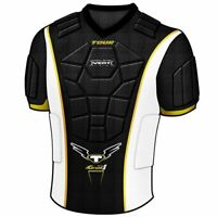 New Tour Hockey Grunt RTX-5 Youth Upper Body Protector YS Black/White