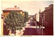Bishop Street Londonderry Postcard Derry Ireland..