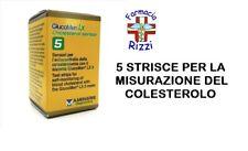 GLUCOMEN LX3 CHOLESTEROL 5 STRISCE PER LA MISURAZIONE DEL COLESTEROLO MENARINI