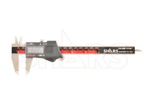 "SHARS Aventor 6"" /150mm DPS IP54 Electronic Digital Caliper DIN862 .0005"" NEW P]"