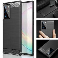 For Samsung Galaxy A01 A11 A21S A10 A51 A71 Premium Carbon Fibre Shockproof Case