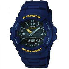 Mens Casio G-shock Antimagnetic Alarm Chronograph Watch G-100-2bvmur