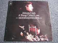 Johnny Cash-A Thing called Love LP-Holland-Country-1972-33 U/min