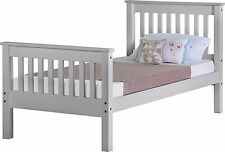 New 3ft Single Shaker Grey Finish Bed Frame Super Deal Sale Price