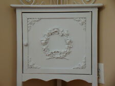 Shabby Chic Rose Floral Wreath Furniture Appliques Architectural Trim Mount