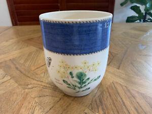 "Wedgwood Sarah's Garden 6"" Utensil Jar - Blue"
