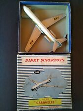 Dinky Toys  Caravelle S.E.210 . N° 60F