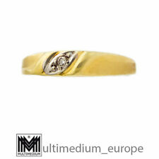Kleiner 585er Gelbgold Ring Diamant 14ct yellow gold diamond 14k 🌺🌺🌺🌺🌺