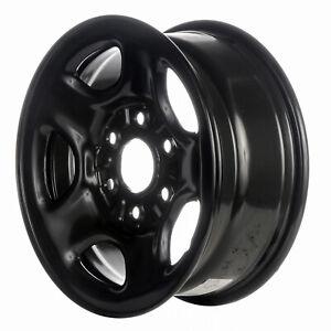05128 Refinished Black Steel 16 inch Wheel