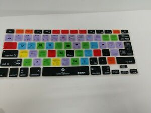 XSKN, Mackbook Pro/Air Shortcut Design Silicone Keyboard Skin  Adobe Lightroom