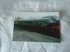6x4 Photo of Class 45 D123 Diesel Loco at Loughborough Central Railway Station