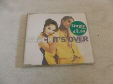 CLOCK - It's Over - 1997 UK limited edition 2-track CD single No 1