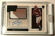 2019 Panini One RPA #105 Bryce Love Rc Auto Patch #89/99 Redskins Future 3 Color