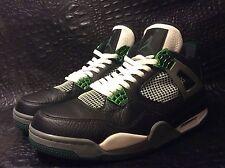 Nike Air Jordan IV 4 Retro OREGON DUCKS PE PROMO SAMPLE BLACK GREEN CEMENT sz 11