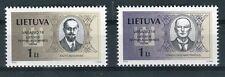 Lituania/Lithuania 2002 Serie giornata indipendenza uomini politici 10 serie MNH