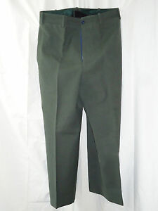 Army OD Enlisted Dress Wool Trousers No date: Dad retired in 1963 Olive Drab