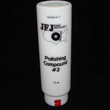 2 x JFJ EASY PRO POLISHING COMPOUND #2 WHITE 12oz