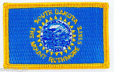 Ecusson Brodé PATCH drapeau DAKOTA du SUD SOUTH USA FLAG EMBROIDERED