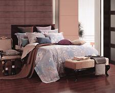 DM475Q Queen size Duvet Cover Set, Luxury Jacquard Damask Bedding by Dolce Mela