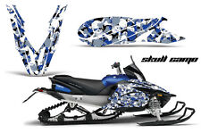 YAMAHA APEX GRAPHIC KIT AMR RACING SNOWMOBILE SLED WRAP DECAL 12-13 SKULL CAMO B