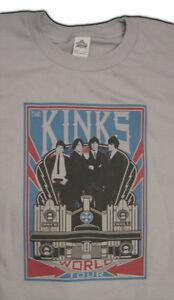 the KINKS new  T SHIRT  Ray Davies rock  All sizes S M L XL
