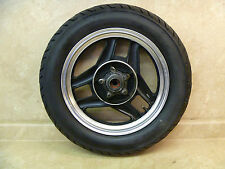 Honda 700 Nighthawk CB CB700 SC CB700SC Used Original Rear Wheel 1985 #HW116