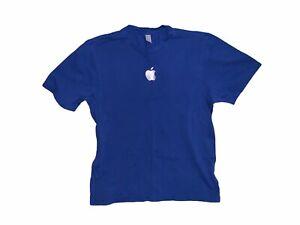 APPLE AUTHENTIC T SHIRT Blue Size S