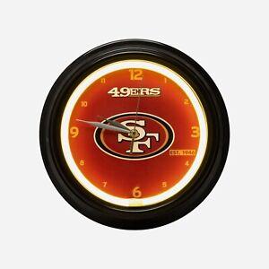 San Francisco 49ers NFL Gametime LED Clock, FREE SHIP!