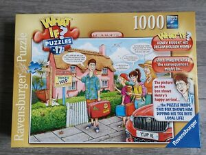 Ravensburger WHAT IF? 17 Escape to the Seaside 1000 piece jigsaw puzzle