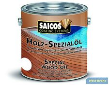 19,74€/L Saicos Holz-Spezialöl farblos Finish 0110 2,5 L Spezial-Öl ~~NEU***