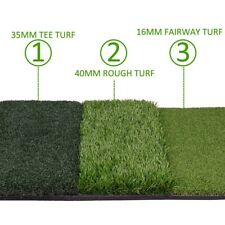 "Backyard Golf Mat 25"" x 16"" Pro Residential Practice Golf Turf Mat With Foam Pad"