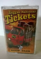 Reggae National Tickets Roof Club musicassetta nuova sigillata