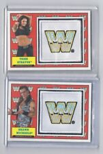 2017 TOPPS WWE HERITAGE Patch LEGEND - Shawn Michaels & Trish Stratus /299