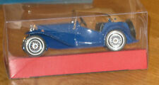 models of yesteryear by Matchbox 1945 MG TC Blue  With Clear Display Box