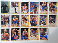 1991-92 Upper Deck Cleveland Cavaliers Cavs Team Set Of 21 Basketball Cards
