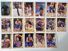1991-92 Upper Deck Cleveland Cavaliers Team Set Of 21 Basketball Cards