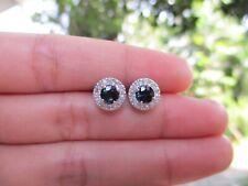 .26 CTW Diamond Earrings 14k White Gold E341 sep