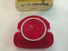 NOS Guide 5959967 / 5959992 - 1968 Chevrolet Impala Belair, Red Tail Light Lens