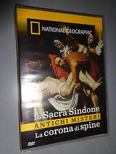 DVD N° 146 NATIONAL GEOGRAPHIC LA SACRA SINDONE ANTICHI MISTERI CORONA DI SPINE