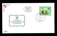 Autriche 1988 Styrie verre et de charbon exposition FDC #C 2822
