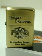 ZIPPO / HARLEY- DAVIDSON Cigarette Oil Lighter....... LIMITED EDITION HDP-11