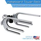 Wakeboard Tower Rack Board Holder Boat Racks Fit Vertical Horizontal Slant Tube