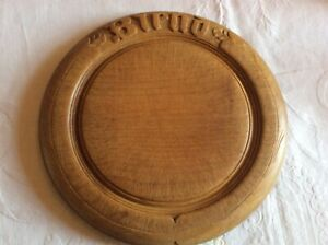 Antique Wooden Bread Board