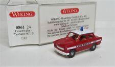 Wiking 1:87 Trabant 601 S OVP 0861 24 Feuerwehr ELW Trabbi
