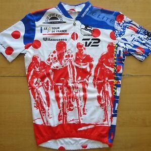 Giordana TOUR DE FRANCE 1996 Size M-3 Cycling Shirt Jersey