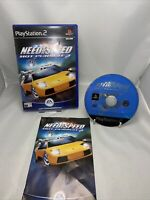 Need For Speed: Hot Pursuit 2 (Sony PlayStation 2) - Good Condition w/ booklet